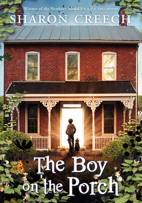Cover image for The Boy on the Porch by Sharon Creech