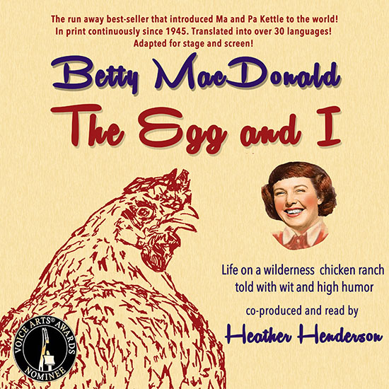 Cover image for The Egg and I by Betty MacDonald