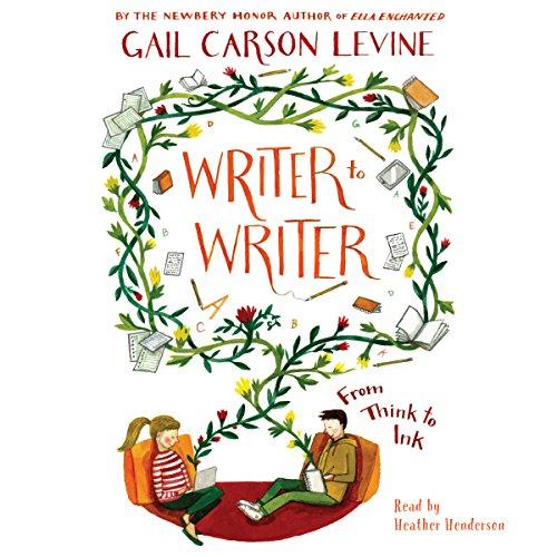 Cover image for Writer to Writer by Gail Carson Levine